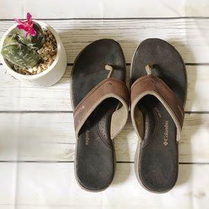 Columbia Women's Sandals Flip Flops 9